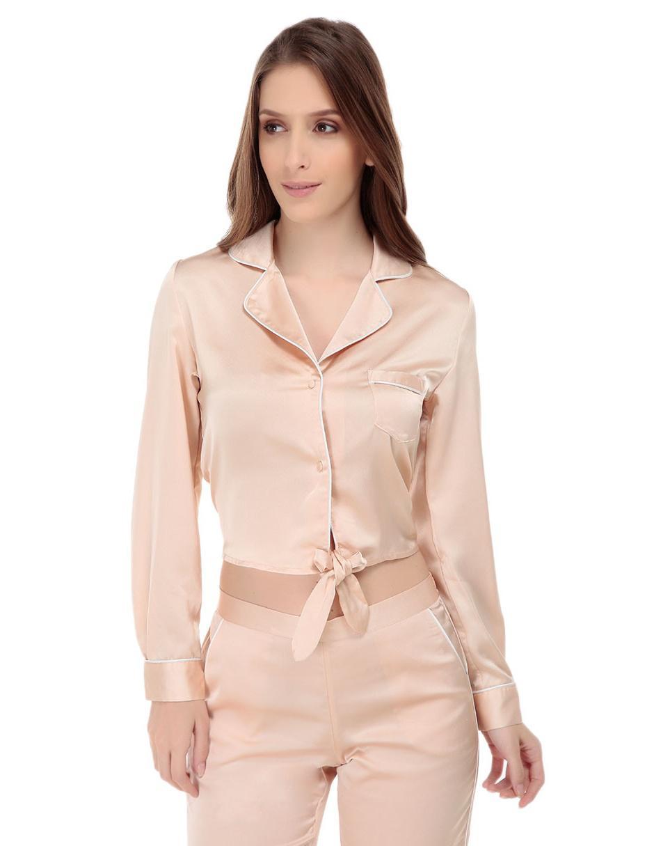 8f9ba6644 Camisa pijama lisa ETAM Maud rosa